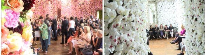 Fashion and flowers: Mark Colle, un florista de alta costura