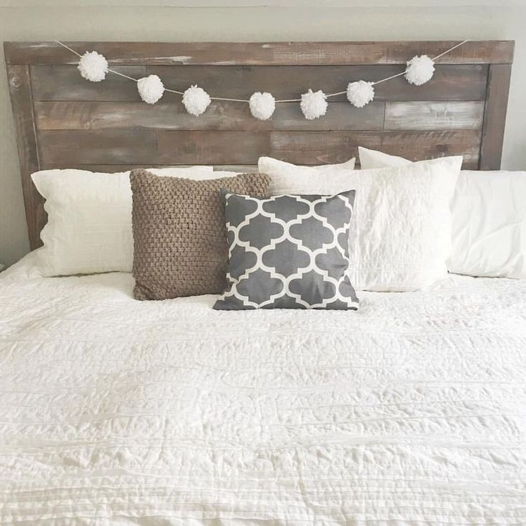 Headboard Decorating Ideas Part - 41: Headboard Idea Without The White Balls
