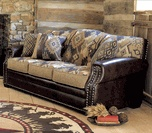 Western Leather Furniture & Cowboy Furnishings from Lones Star Western Decor
