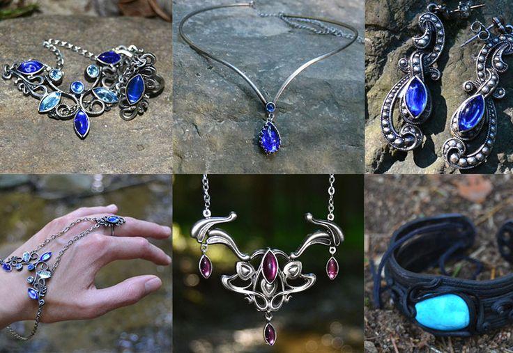 Fantasy šperky, které mluví samy za sebe.