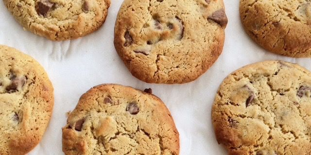 I Quit Sugar - Nutty Choc-chip Cookies recipe by Natasha Giuffre