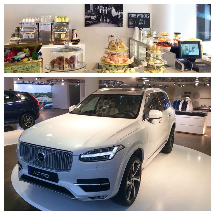 Enjoy a cup of coffee at Coffee with cars while you look at the All New Volvo XC90. Welcome this weekend to Volvo Car Showroom.