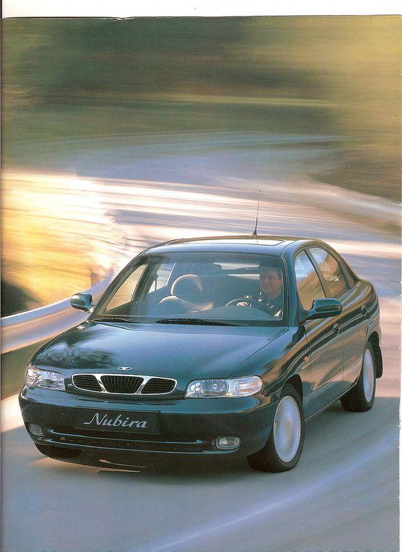 Brochure Daewoo Nubira 1998