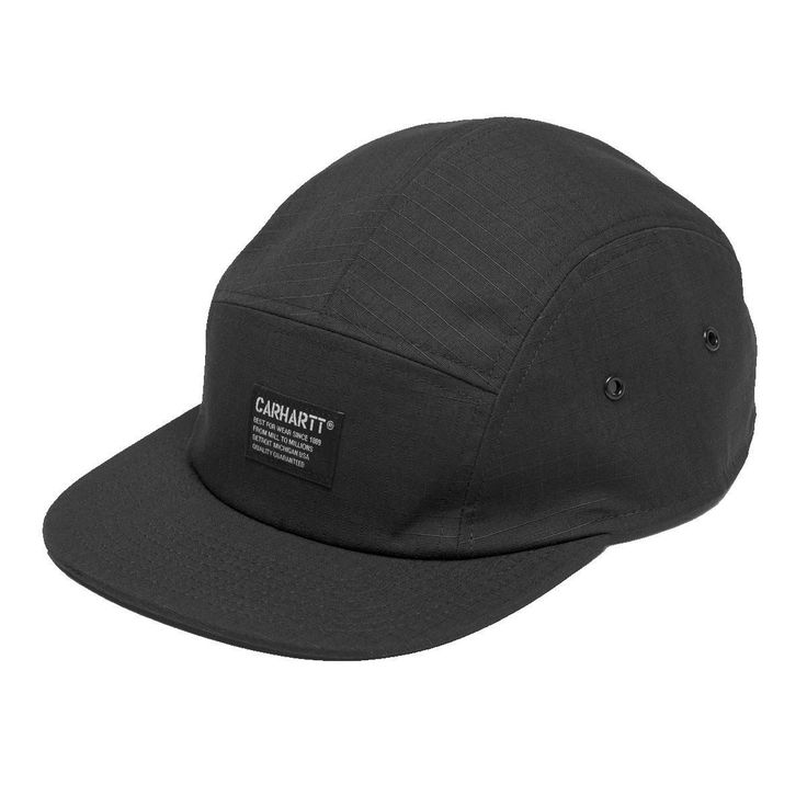 Black Hill Starter Cap by Carhartt WIP. Available from Recreo Clothing, UK