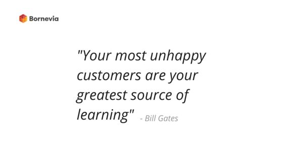 Let's learn, people! #learning #unhappycustomer #customer