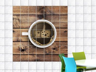 fliesenaufkleber f r k che kaffee wanddeko f r k che pinterest. Black Bedroom Furniture Sets. Home Design Ideas