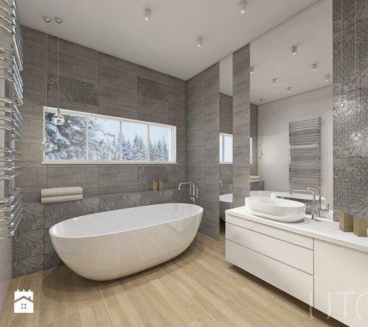 Łazienka styl Nowoczesny - zdjęcie od UTOO- pracownia architektury wnętrz i krajobrazu