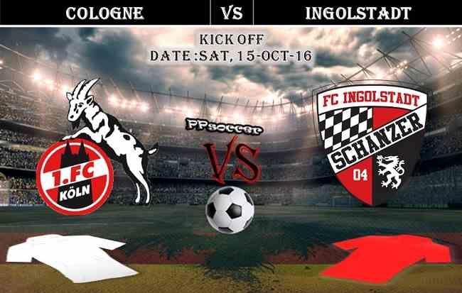 FC Cologne vs Ingolstadt 15.10.2016 Predictions - PPsoccer