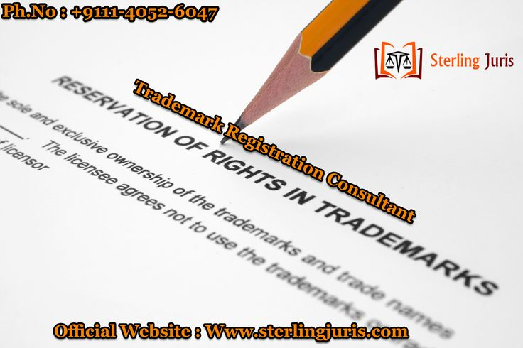 A leading law firm based in Delhi, Sterling Juris has been offering quality of trademark registration services to clients, that help in getting businesses get their own brand. Our experienced trademark registration consultant in Delhi knows the complete trademark procedure and thereby are engaged towards offering impeccable services to clients.   Contact No : 9111-4052-6047