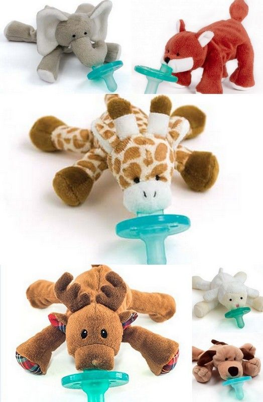 Wubbanub – Baby Pacifier / Plush Toy