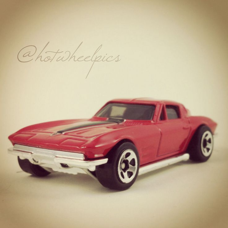 "Corvette - 2014 Hot Wheels HW Workshop ""Then & Now"" #hotwheels | #toys"