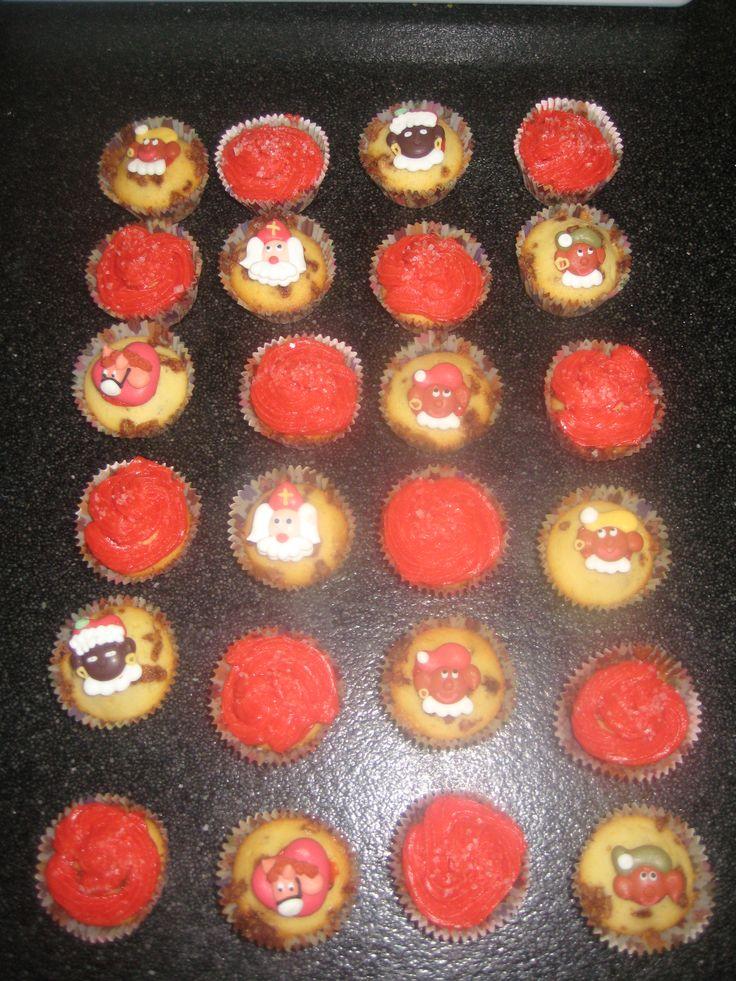 sinterklaas cup cakes