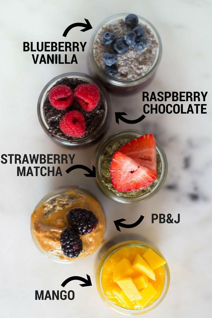 Blueberry Vanilla Chia Pudding Recipe Chia Pudding Recipes