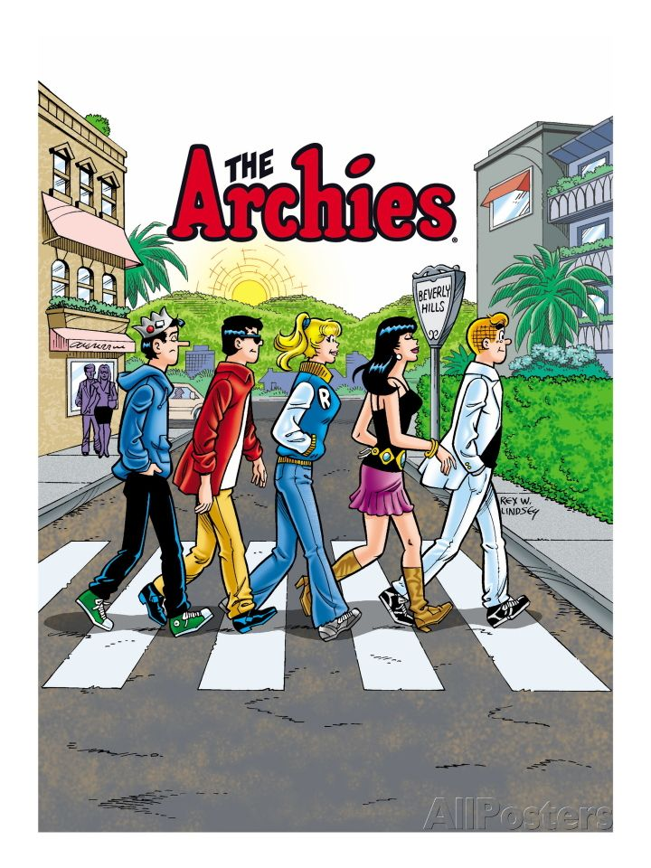 Archie Comics Cover: Archie Digest No.250 The Archies Art Print at AllPosters.com