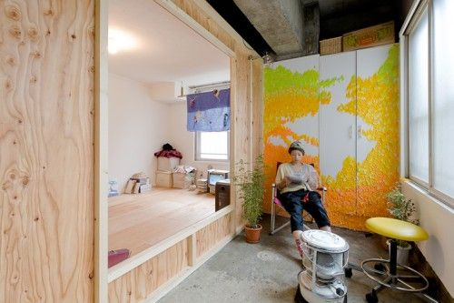brilliant creative apartment interior renovating low-cost budget
