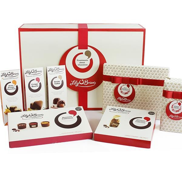 Chocolate Hamper Box to Spoil, 1267g - Available to ship from 1st October 2015