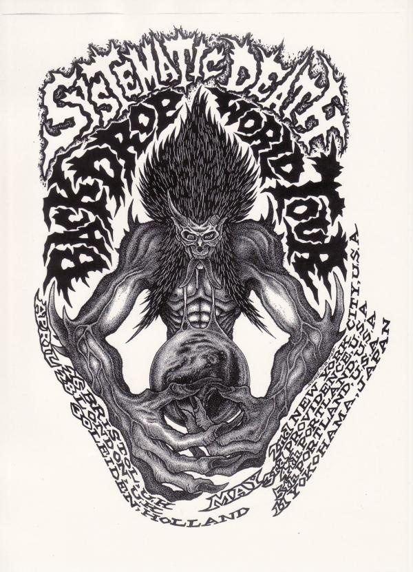 Sugi - Systematic Death Back Drop World Tour