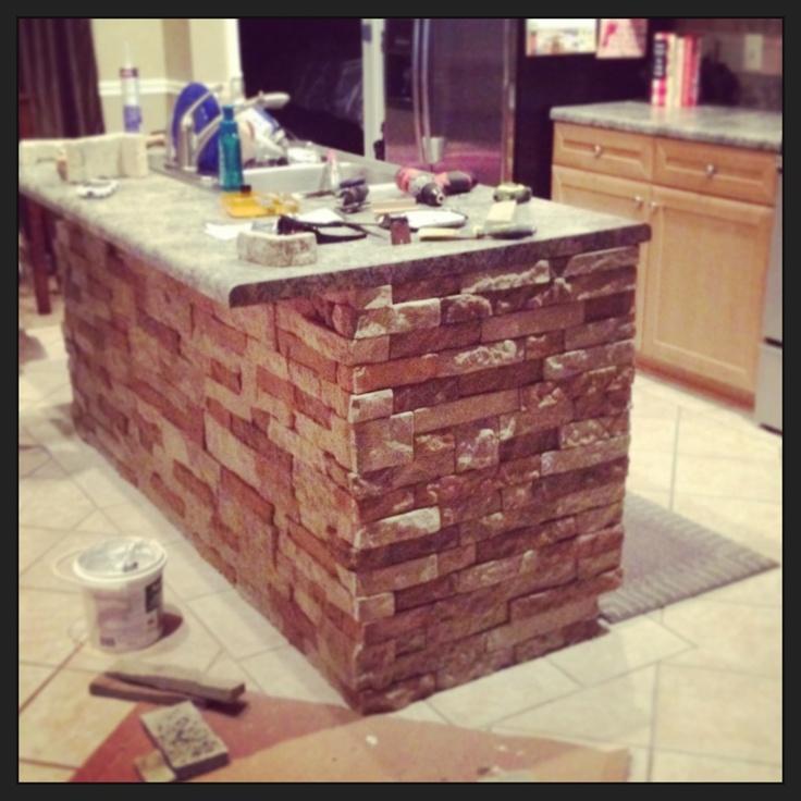 Lowes Air Stone Backsplash: 134 Best Images About Kitchen Remodel On Pinterest