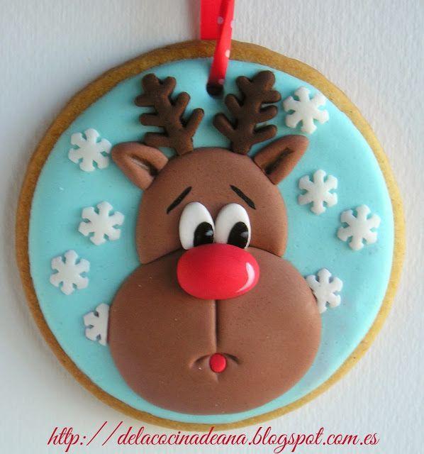 Galletas Decoradas para Navidad
