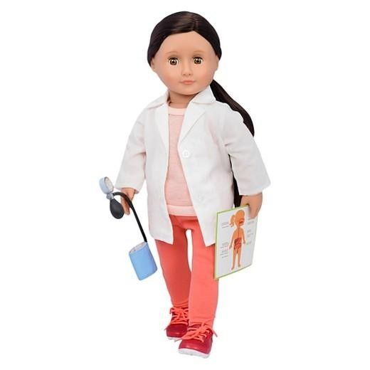 "Our Generation : Nicola Doctor 18"" dolls - Castello 