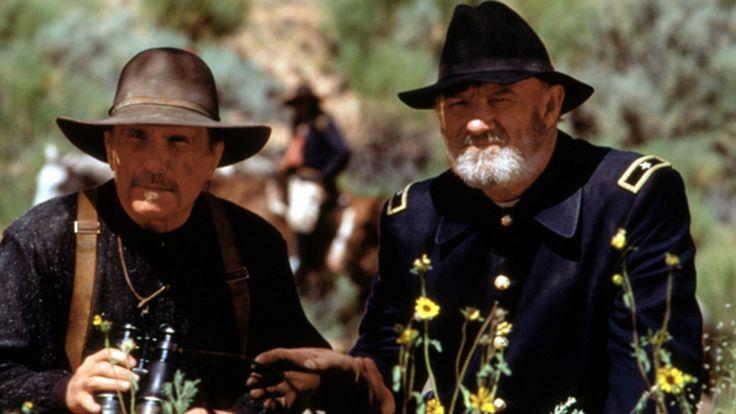 "Robert Duvall, Gene Hackman in ""Geronimo: Am American Legend"" (Walter Hill, 1993)"