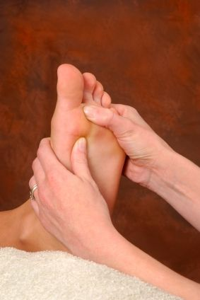 ah! for all the weight my poor feet have to bear... wouldn't it be nice to pamper them?
