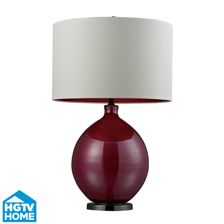 New Pink Table Lamp by Dimond Lighting, available at Design Lighting in Surrey