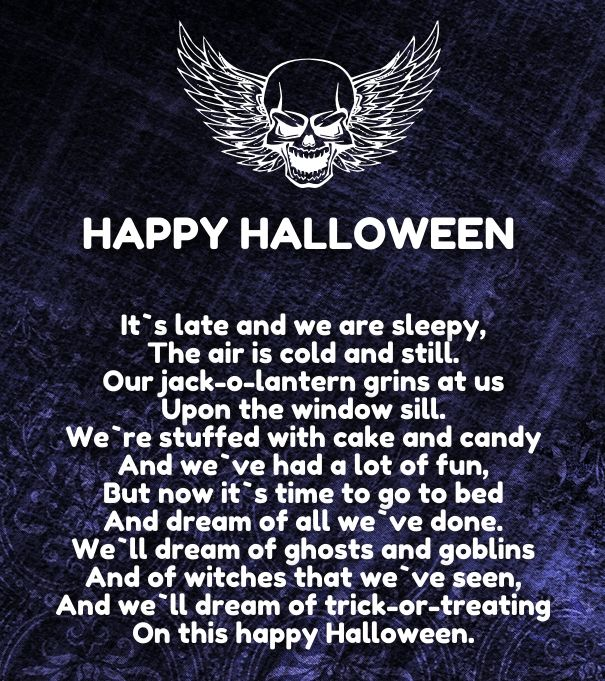 Etonnant Top 20 Halloween Love Poems That Rhyme And Scary