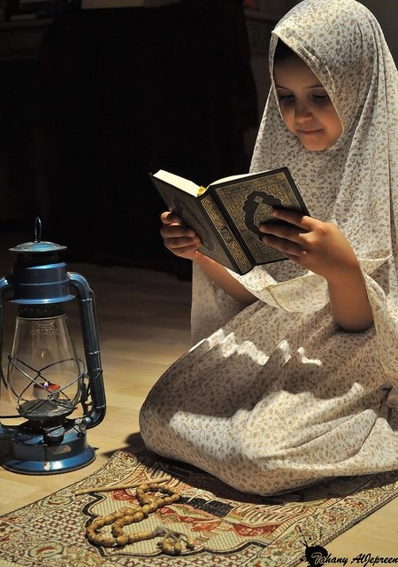 teach your children the quran and the quran with teach them everything.