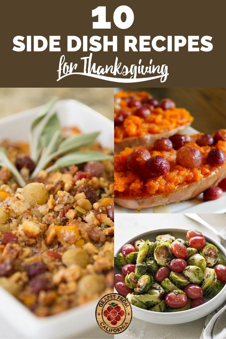 10 Side Dish Recipes For Thanksgiving In 2020 Side Dish Recipes Thanksgiving Recipes Food Dishes