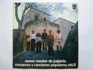 Nuevo Mester De Juglaria Romances y Canciones Populares Vol III Philips LP