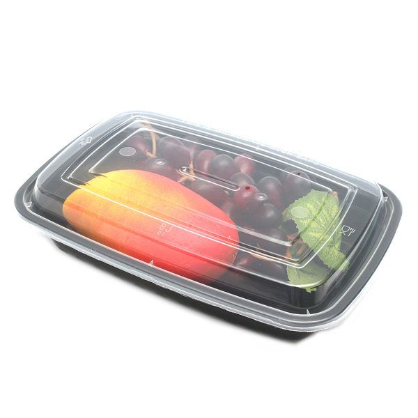 10Pcs 24oz Meal Prep Food Containers With Lids Reusable Microwavable Plastic BPA Free Lunch Box at Banggood