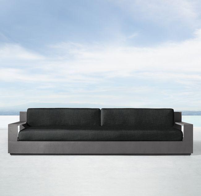 111 Marbella Aluminum Luxe Sofa Cushions Cushions On Sofa
