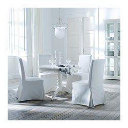 HENRIKSDAL Chair - Blekinge white, birch - IKEA  http://fortheloveofahouse.blogspot.com/2011/01/kitchen-details.html