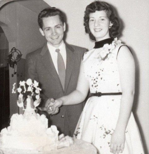 Charles Manson marrying his first wife, Rosalie.