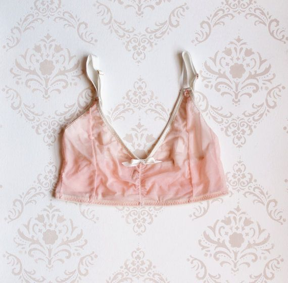 Handmade  'Honeysuckle' Cropped Cami Made to Order