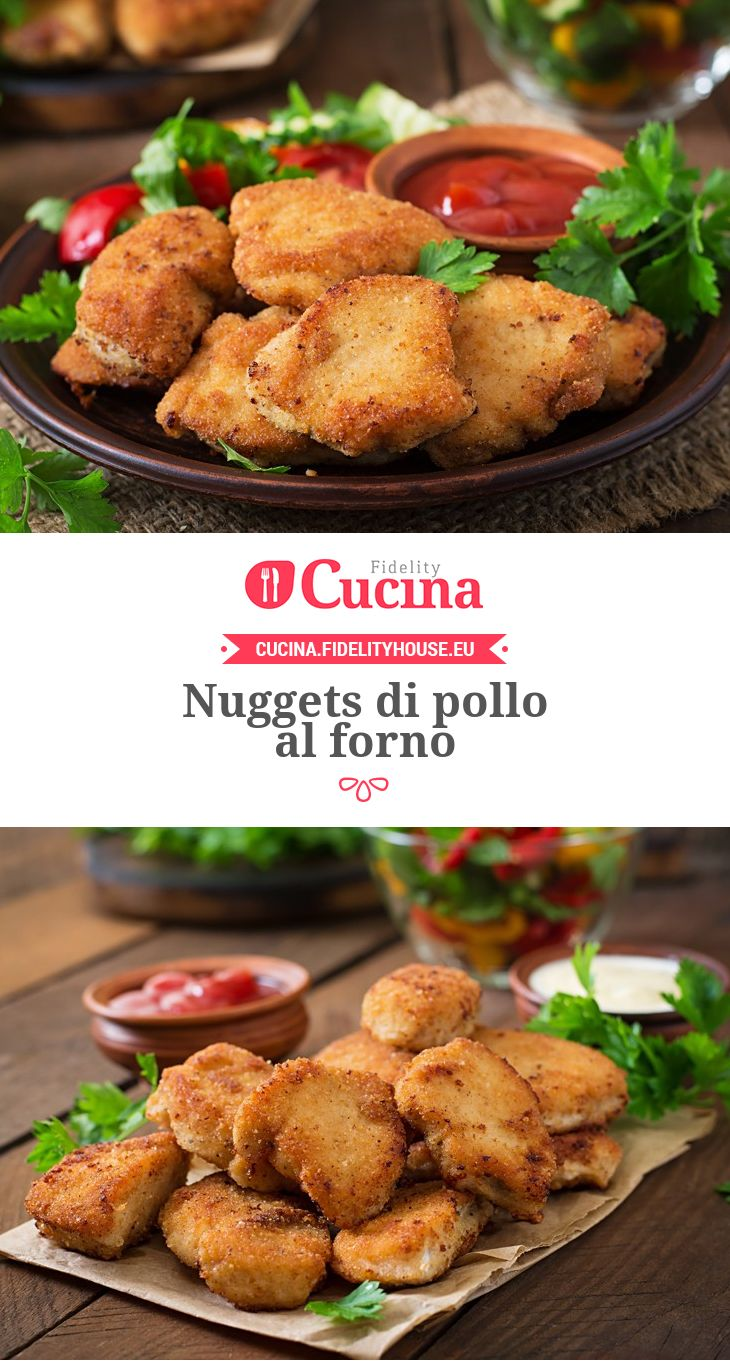 Nuggets di pollo al forno