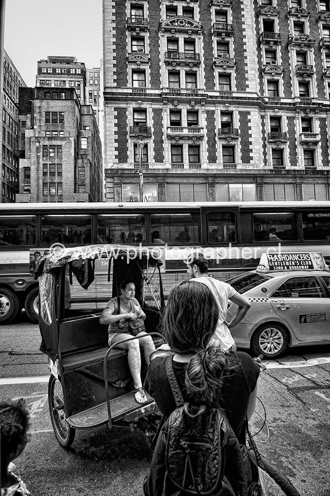 Taxi bike New York 2012