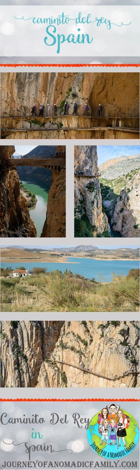 How to hike Caminito Del Rey with kids