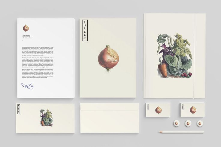 Branding Inspiration: Puree Organics by Studioahamed
