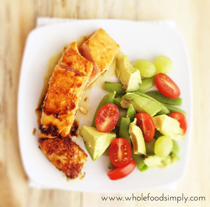 Simple and delicious Orange Miso Glazed Salmon. Free from gluten. grains, dairy, egg, nuts and refined sugar. Enjoy.
