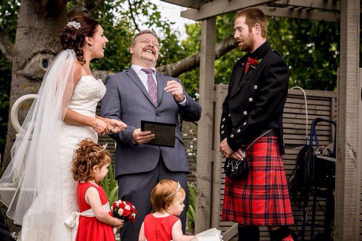 Having a moment during the wedding of Belinda & Scott at Rosebank Winery.
