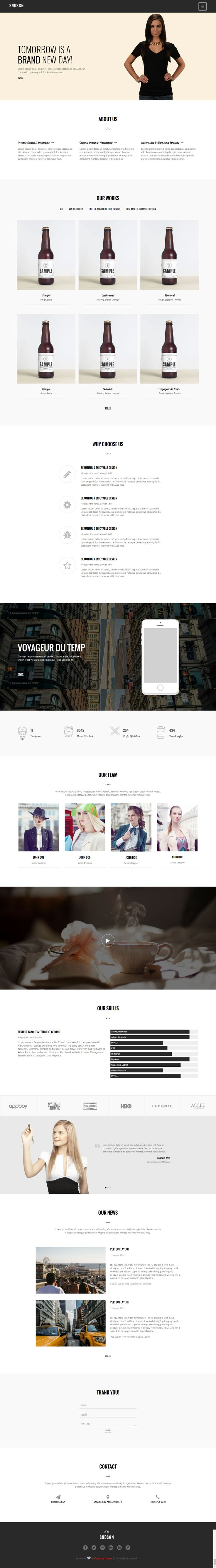 We have created Free Html Template Website. You can download the HTML for your portfolio template website !       #Free #html #website #template #portfolio #responsive #css #css3 #html5 #webtemplate