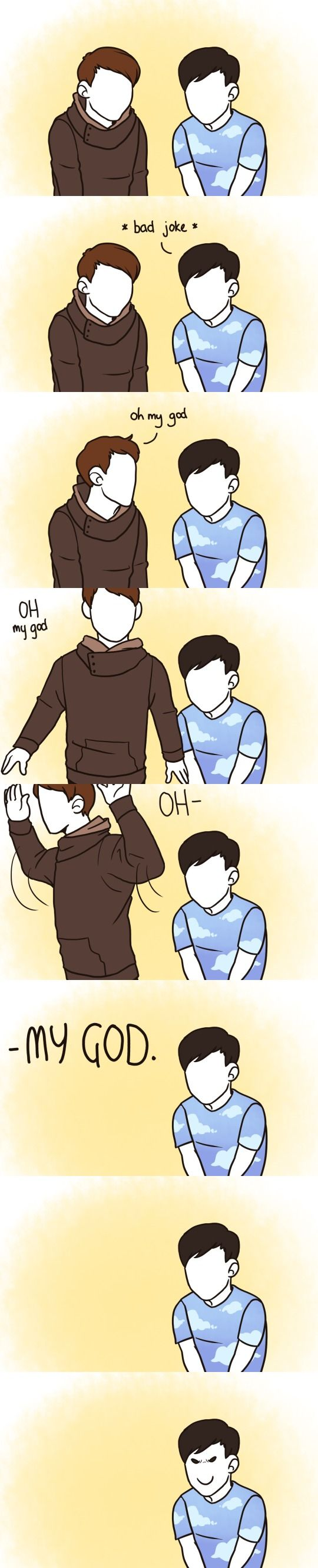 Danisnotonfire and AmazingPhil #comic