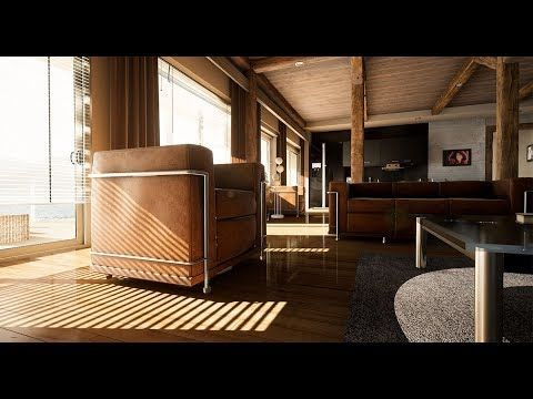 Lake house UE4 archviz cinematic