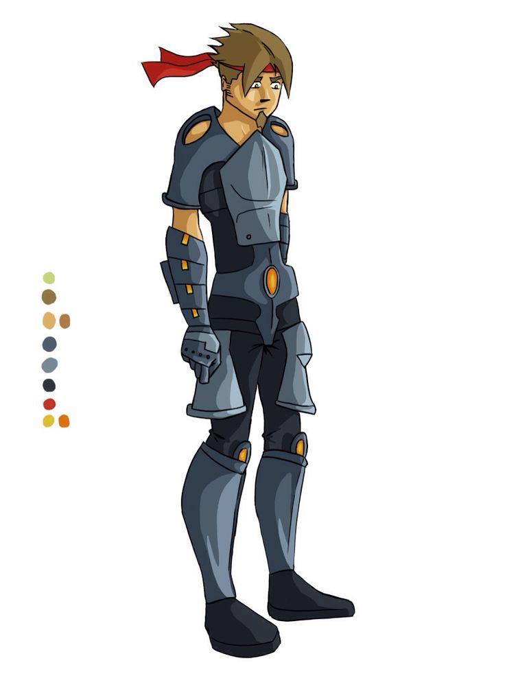 Chara-design exo armure 3 || by Adilas