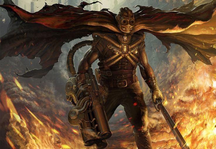 Warriors Steampunk Armor Fantasy