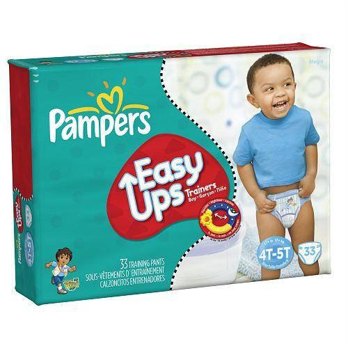 Pampers Easy Ups Boys, Mega Pack, 4T-5T (Size 6)