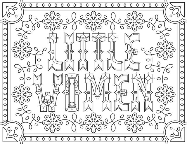 find this pin and more on louisa may alcott bibliography 6 coloring pages