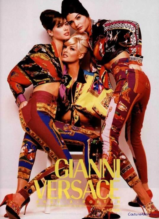 Gianni Versace, 1991.